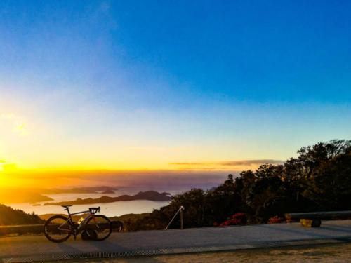 大平山山頂公園#第一回幸せます大平山ヒルクライム